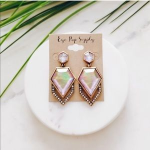 Multicolored Crystal Earrings